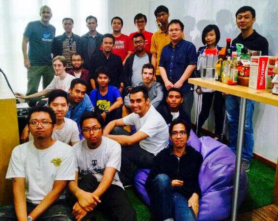 Python Indonesia June 2014 Group Photo